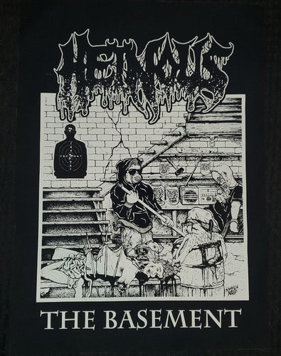 Heinous - The Basement Back Patch