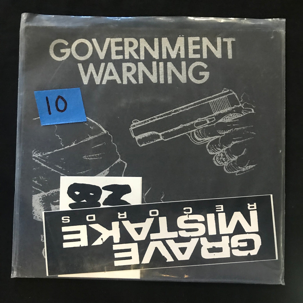 Government Warning - Executed 7 in
