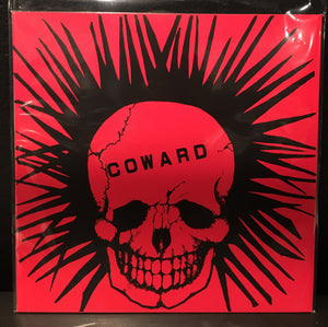 Gasmask / Coward Split LP