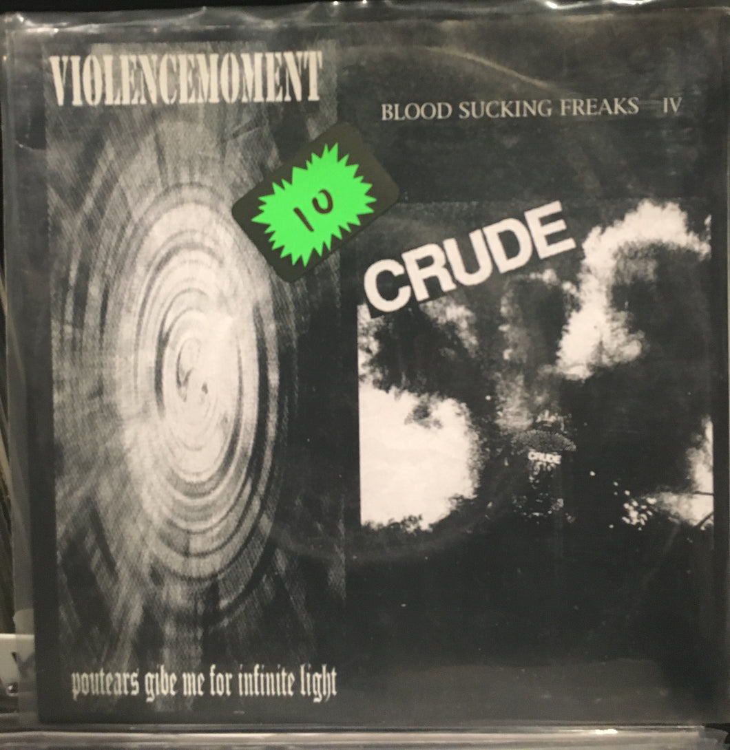 Violencemoment / Crude 7in