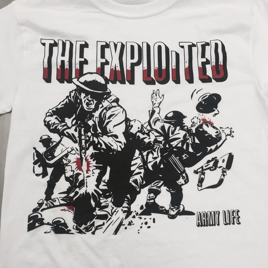 The Exploited Army Life T-Shirt