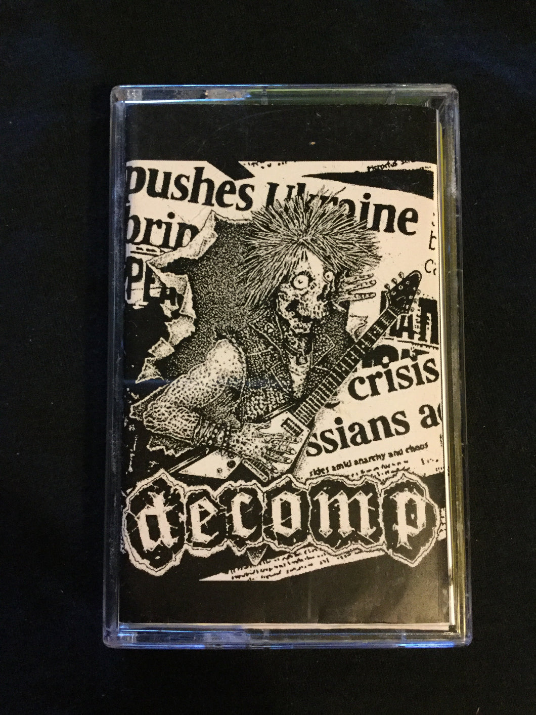 Decomp - Decomposition Of The Human Body After Death 2016 Tape