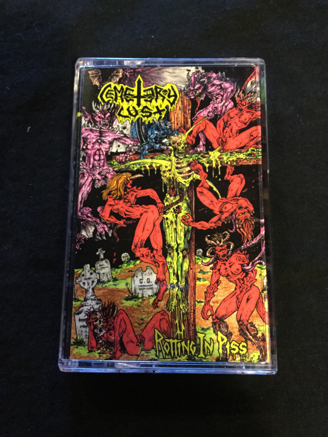 Cemetery Lust - Rotting In Piss Tape
