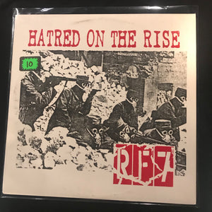 RF 7 - Hatred On The Rise LP
