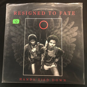 Resigned To Fate - Hands Tied Down LP