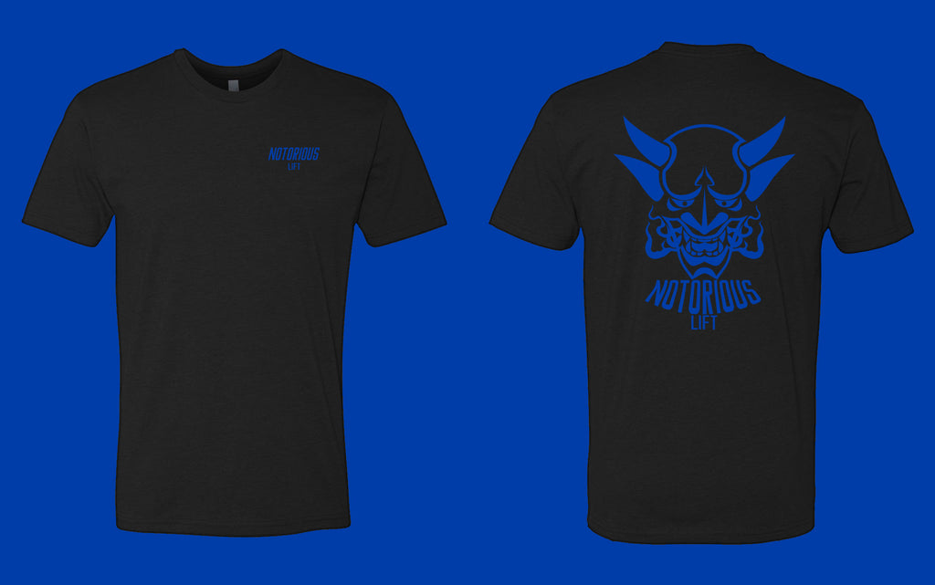 Premium Notorious Lift Tee (Royal Blue)