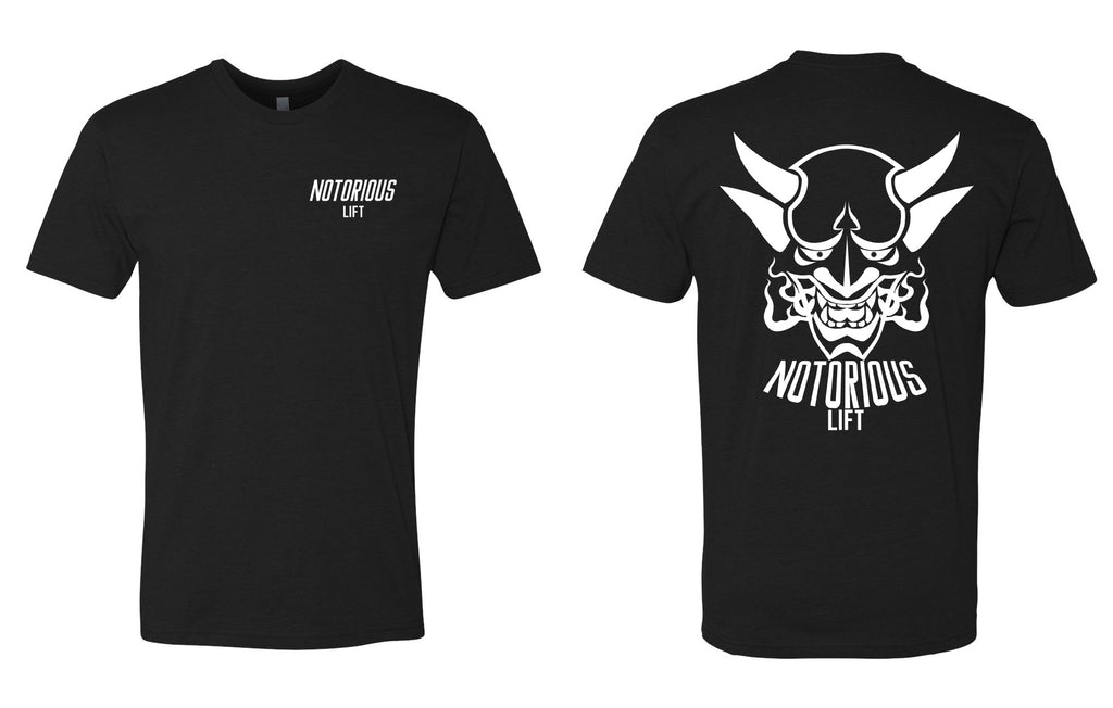 Premium Notorious Lift Tee (Black/White)