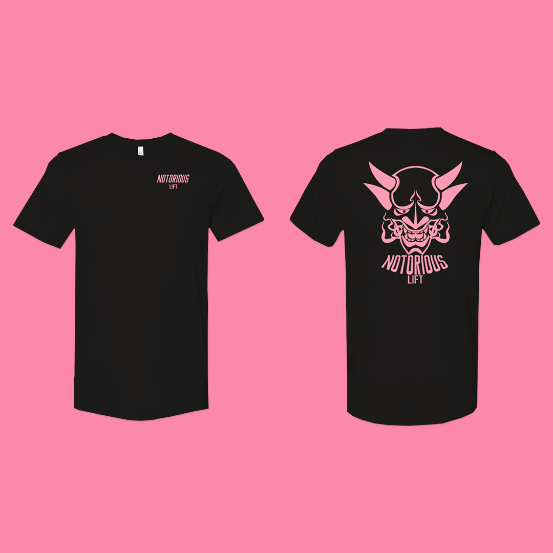 Premium Notorious Lift Tee (Breast Cancer)