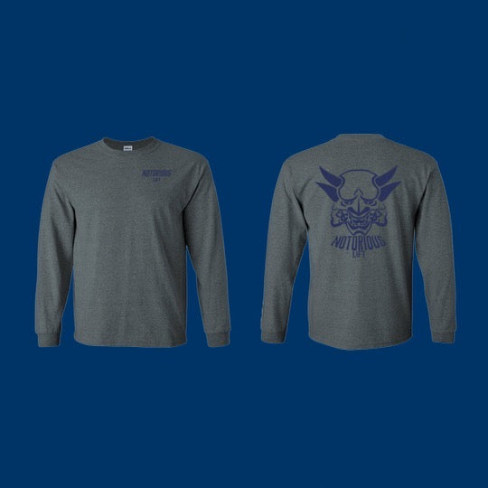 Premium Long Sleeve (Navy/ Steel Hybrid)