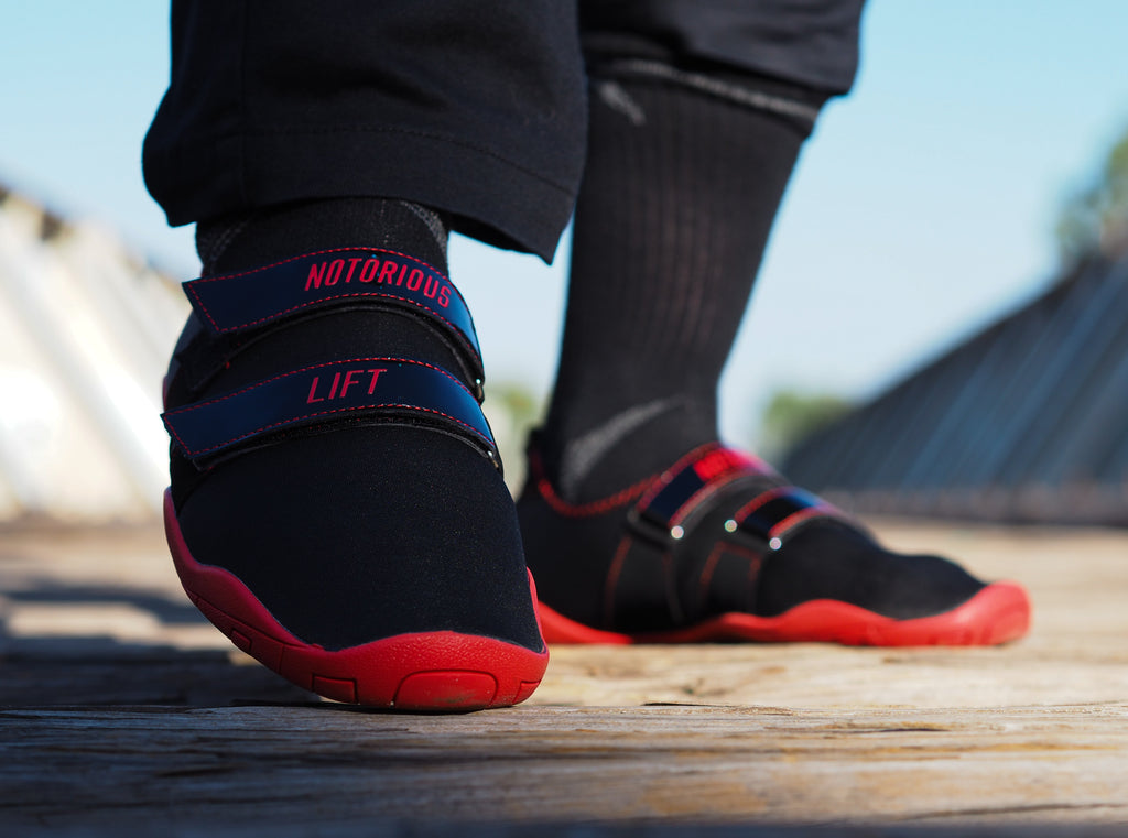 Notorious Lifters Black/Red Inverted