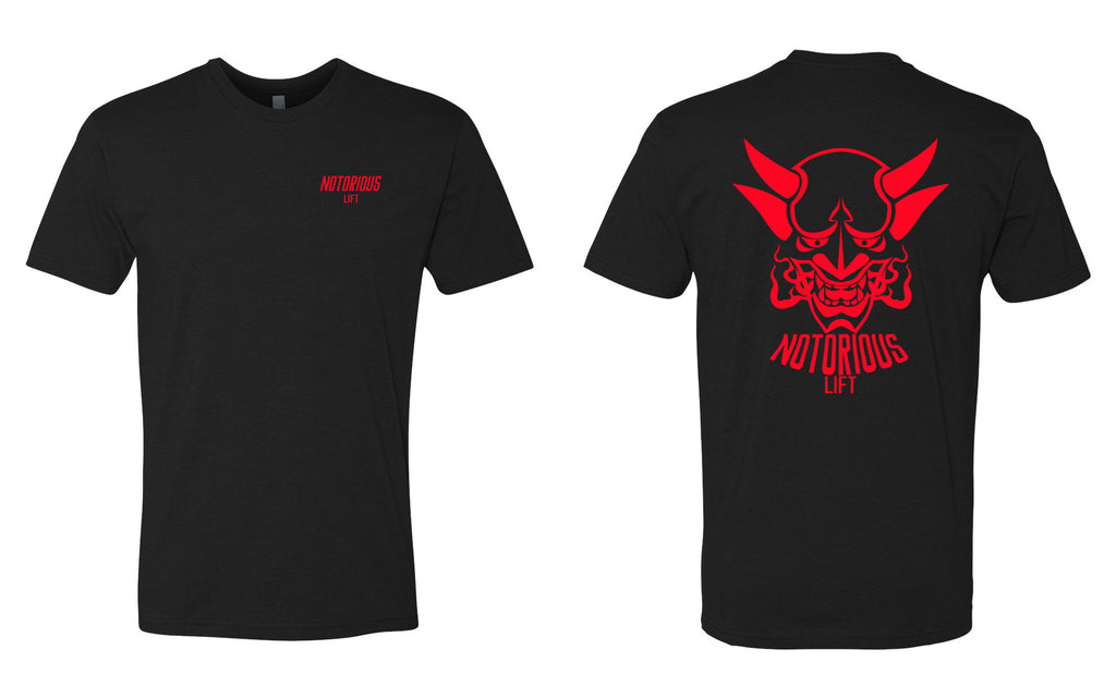 Premium Notorious Lift Tee (Black/Red)