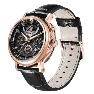 Multimatic Rose Gold Obsidian Black