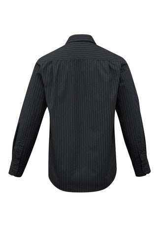 SH840 Mens Striped Manhattan Shirt