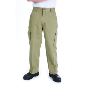 3312-Cotton Drill Cargo Pants