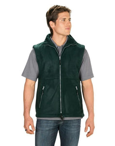 PF303 Mens Plain Poly Fleece Vest