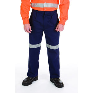 3314 - Cotton Drill Trousers with 3M Reflective Tape