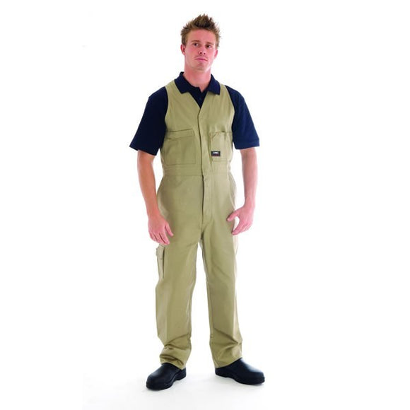 3121-Action Back Overalls Cotton Drill