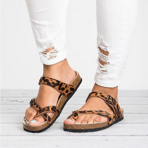 fashion online store detailed pictures Women's Shoes - 2019 New Fashion Women Summer Leopard Print Flats ...