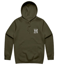 Old H Hoodie - Forest