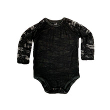 Load image into Gallery viewer, Lace Lined Long-Sleeved Bodysuit