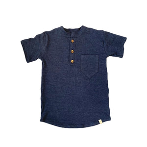 The Short Sleeve Henley Top