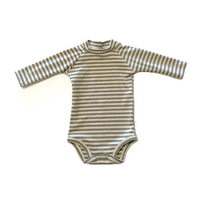 Striped Raglan Bodysuit