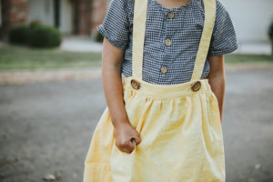 The Wren Suspender Skirt