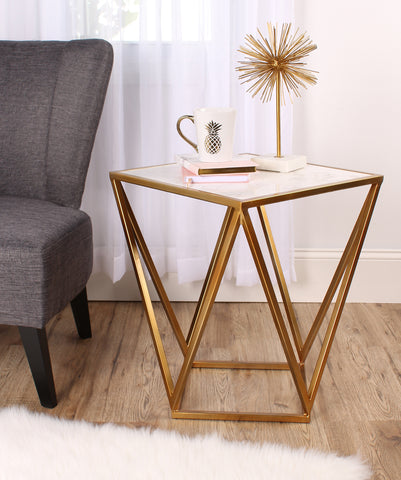 Maia Side Table Gold
