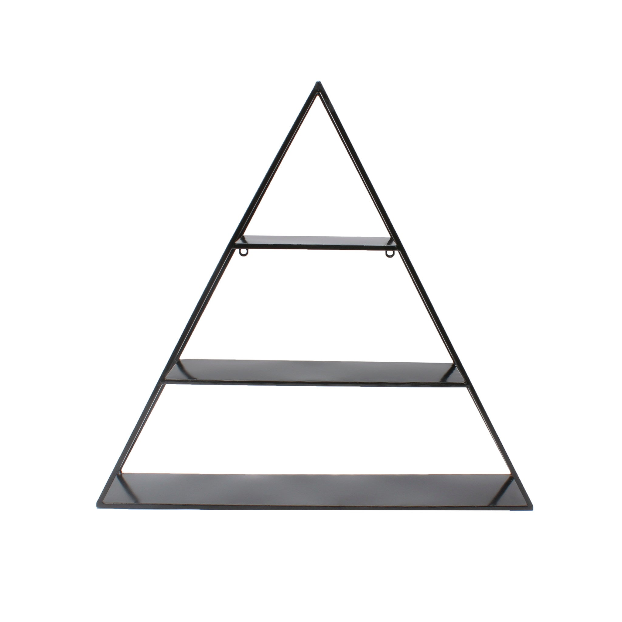 Accent Shelf, Contemporary, Black
