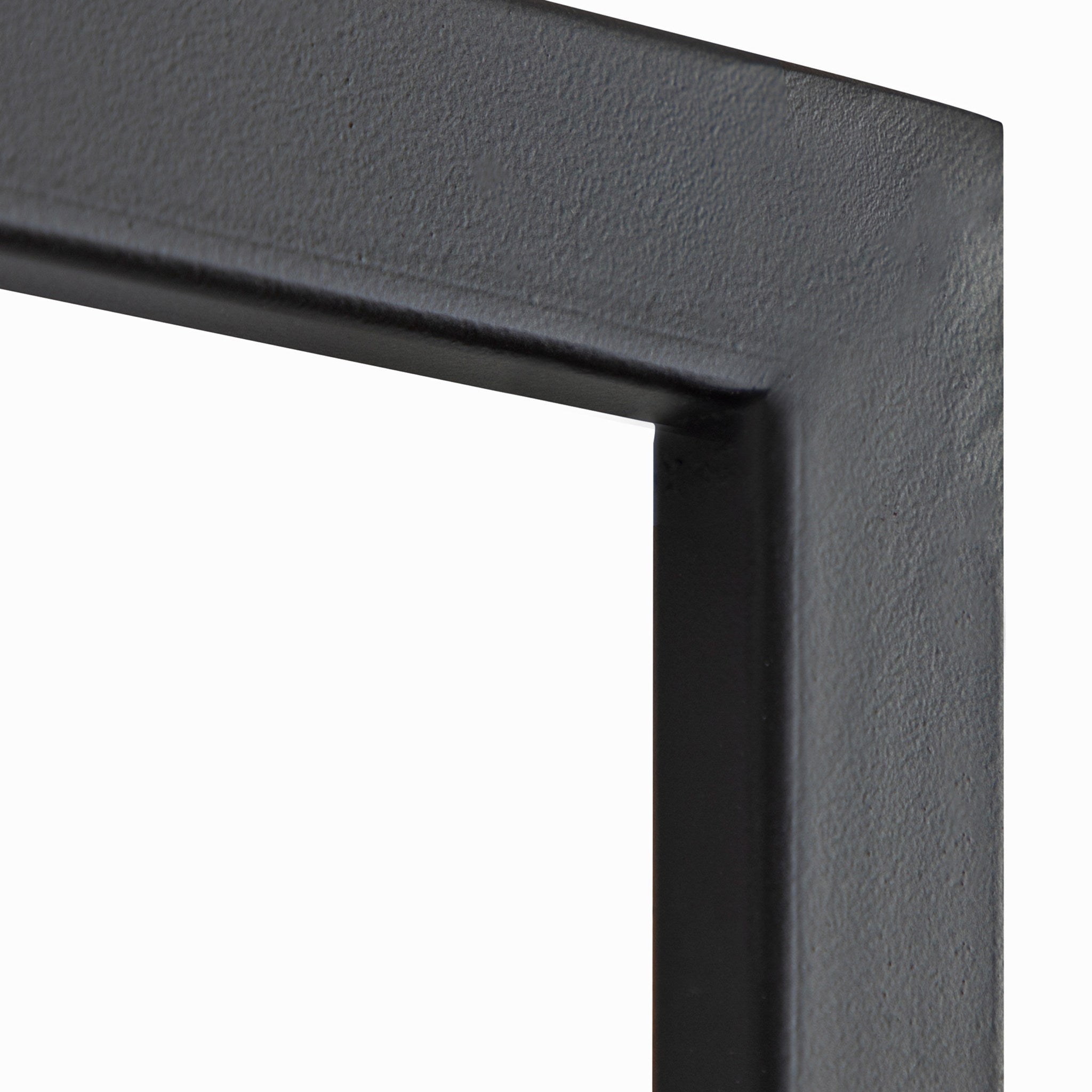 Plaque, Modern, Black