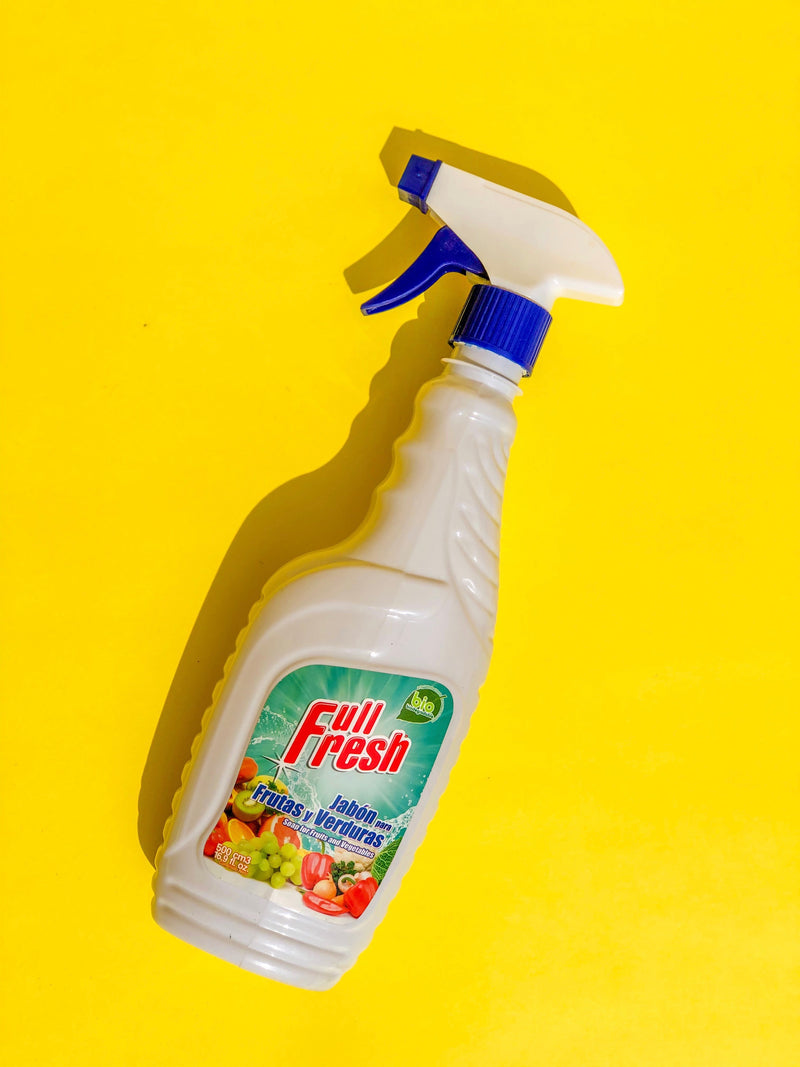 Jabón para Frutas y Verduras 500ml Full Fresh