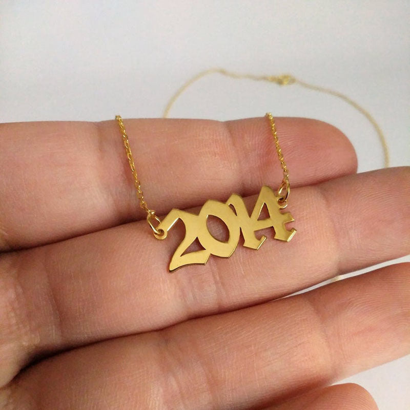 Date Of Birth Necklace
