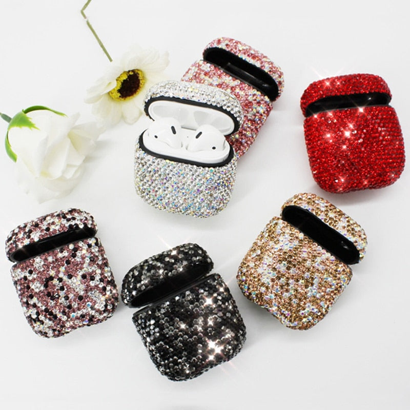 Diamond Airpods Case