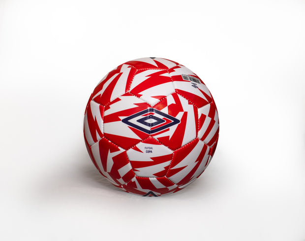 Umbro Futsal Copa Ball - (Vermillion/Dark Navy/White) - Umbro South Africa