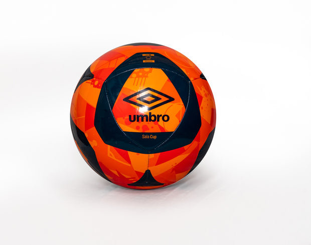 Umbro Sala Cup Ball - (Bright Marigold/Gilbraltar Sea) - Umbro South Africa