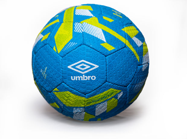 Umbro Neo Street Enduro Ball - (Ibiza Blue/Acid Lime/White) - Umbro South Africa