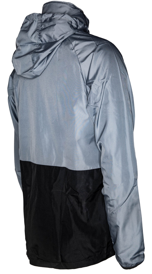 Umbro Training Shower Jacket - Charcoal/Black - Umbro South Africa