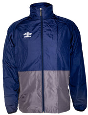 Umbro Training Shower Jacket - Dark Navy/Charcoal - Umbro South Africa