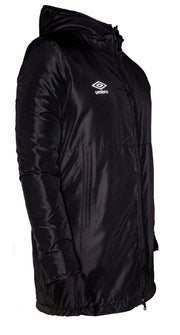 Umbro Padded Jacket - Black - Umbro South Africa