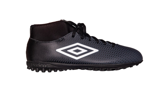 Umbro Veloce Hi CL TF - Black/White/Carbon - Umbro South Africa
