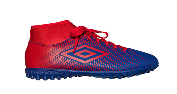 Umbro Veloce Hi CL TF - TW Royal/Vermillion - Umbro South Africa