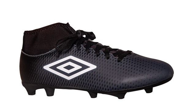 Umbro Veloce CL FG Boot - Black/Carbon - Umbro South Africa