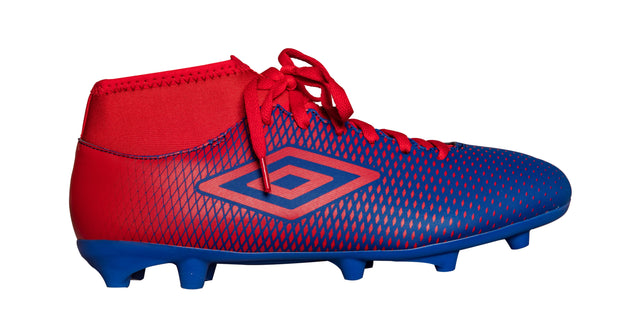 Umbro Veloce CL FG Boot - TW Royal/Vermillion - Umbro South Africa
