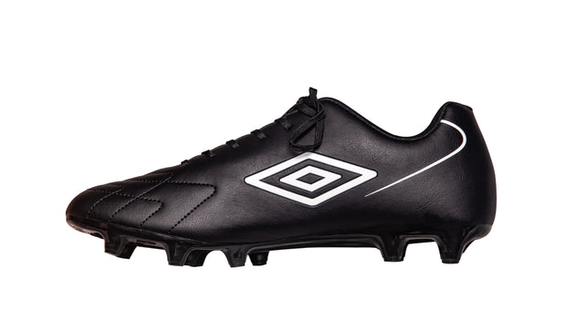 Umbro Attaccante FG Boot - Black/White - Junior - Umbro South Africa