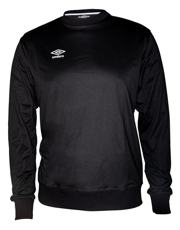 Umbro Training Crew Top - Black - Umbro South Africa