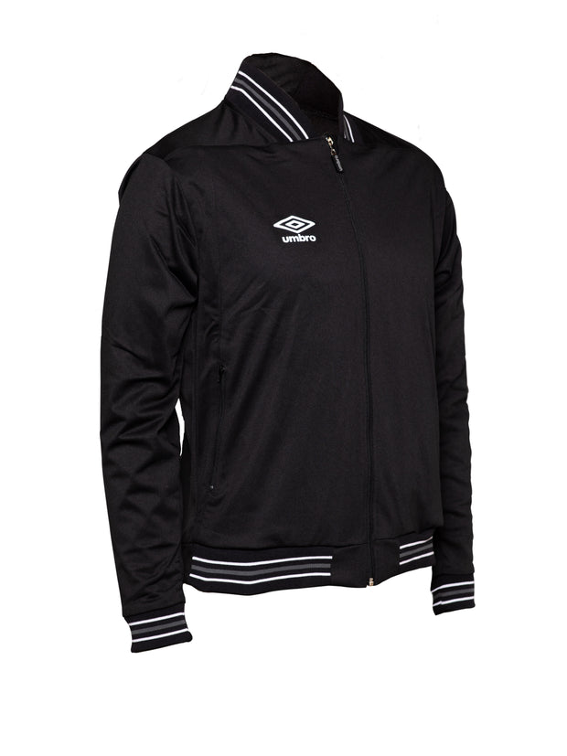 Umbro Anthem Jacket - Black/White/Grey - Umbro South Africa