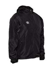 Umbro Shower Jacket - Black/Charcoal - Umbro South Africa