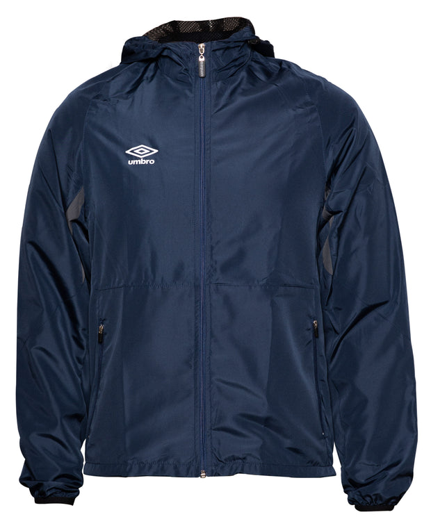 Umbro Shower Jacket - Dark Navy/Charcoal - Umbro South Africa