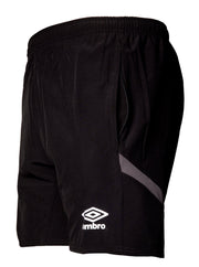 Umbro Training Short - Black/Charcoal - Umbro South Africa