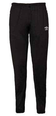 Umbro Tapered Training Pants - Black/Charcoal - Umbro South Africa